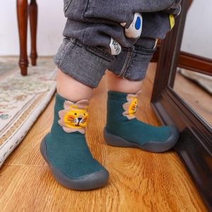 1 2020 TOP qualidade Kids Shoes Crianças barroca ao ar livre Sneakers Boy Girl instrutor do bebê Sapatos Casual Sports Criança Tamanho 26-35