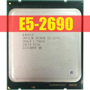 Intel Xeon Processor E5 2690 E5-2690 Eight Core 2.9G SROL0 C2 LGA2011 CPU 100% working properly PC Server Desktop Processor