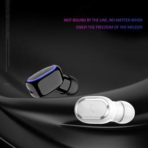 Mini 5.0 Bluetooth Wireless Earphone Ear Buds Sport Single In-ear Headset Business Earphones For iPhone 11 XR Xiaomi Redmi Phone