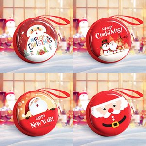 Creative Cute Mini Christmas Snowman Elk Bag Coin Purse Child Backpack Girl Kids Gift