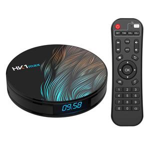 HK1 MAX Android 10.0 Smart TV Box Rockchip 4GB 64GB 32GB 128G 2.4 5.8G Wifi 1080P H.265 4K 60fps 2G 16G Google Player Set Top Box