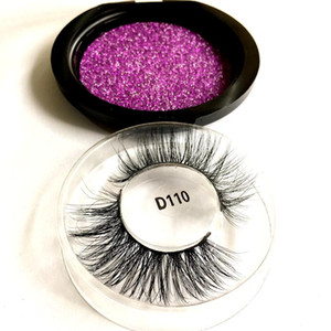 3D False Eyelashes 100% Mink Hair Fake Lashes Dramtic Thick Long Wispies Fluffy Eyelashes Extension Makeup Tools