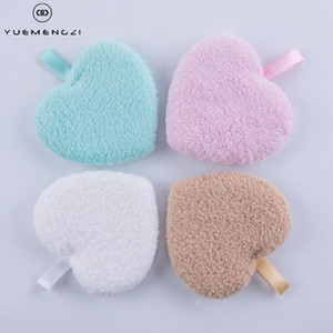 YUEMENGZI Makeup Remover Puff Soft Reusable Microfiber Face Cleaner Plush Cotton Cleansing Pads Wholesale Price