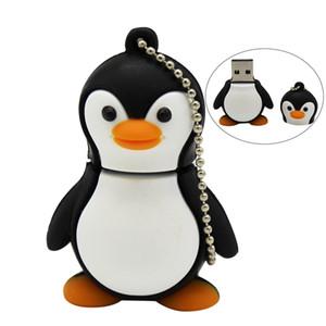 Cartoon Penguin cute penguin USB Flash Drive 4GB 8GB 16GB 32GB 64GB Pendrive USB 2.0 Usb stick