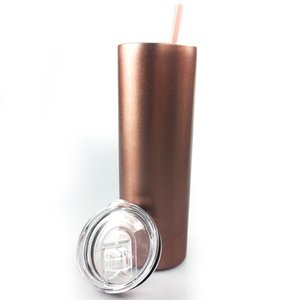 Stainless Steel Drinking Cup Insulated Bottle Vacuum Flask Water Mug Coffee Cole Tumbler with Straw sea ship DHE2475