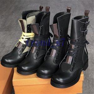 امرأة metropolis ranger boots امرأة الفخذ عالية القتالية أحذية المصممين مارتن الكاحل الأحذية كالفسكين والحنين الأحذية المسطحة