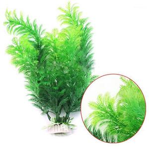11.8 '' Planta artificial Mini Fake Tree Decorative Fake Plant Aquarium for Fish Tank Aquarium Home Decor1