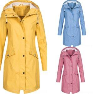 WLX kadın örme ceket moda uzun kollu kapüşonlu Kuzey fa kış kadın ceket kazak kadın fermuar cep ceket sonbahar ceketler