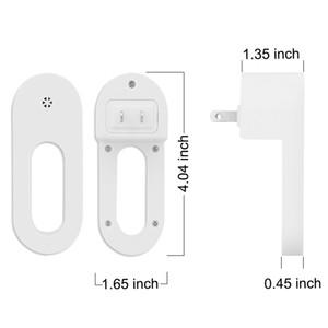 Lampada da notte Novità Casa Appeso Appeso Smart Sensor Sense Lights Camera da letto Bedside Mini Night Light Wardrobe Scagli Scatola Smart Sentise Luci 2pcs / lot DHF4017