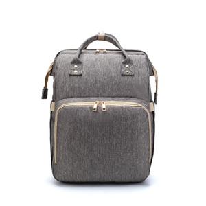 HBP Convertible Детский подгузник сумка, складной многофункциональный рюкзак, мешок для хранения магазина путешествия, модная водонепроницаемая защита