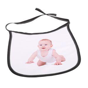 Heat Transfer Sublimation Blank Bib Multi Colors DIY Polyester Baby Eat Drink Anti Dirt Feeding Tool Babies Sleep Saliva Bibs New 3 5ex L2