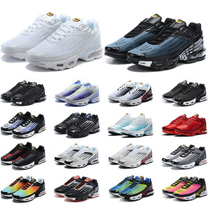 Tn Plus 3 III Tuned Running Shoes Mens Trainers Chaussures Triple White Black Hyper Blue Green OG Neon Womens Sneakers Sports Runners