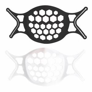 Vendita calda Adult Black Gold Mask Supporto interno Supporto Staffa Silicone Monouso Maschera Staffa 3D Stereo Anti-noioso Esplosione transfrontaliera