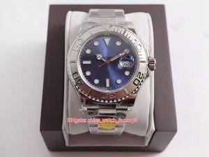 3 estilo GM Maker Super versão 904 aço Cal.3135 Movimento 40mm 116621-78801 18k Gold Watch Mecânica Mens Mens Relógios Masculinos