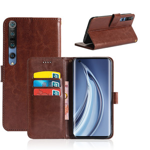 Latest Mobile Accessories For Xiaomi Mi 10 9 Lite Pro 5G CC9 Note 9 Pro Black shark3 Card Pockets PU Leather Wallet Case
