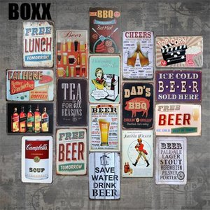 SAVE WATER DRINK BEER Tin Sign Bar pub home House Cafe Restaurant Wall Decor Retro Metal Art sticker Poster