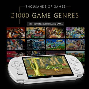 X9 Handheld Game Device 8GB Retro For Game Consoles 5.1'' Large Screen With MP3 Movie Camera Multimedia Video Boy