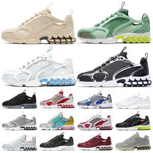 Spiridon Cage 2 Stussy  uomo donna nero bianco grigio rosa Verde Gusto Varsity Blue sneaker da uomo moda sportiva sneakers taglia 36-45