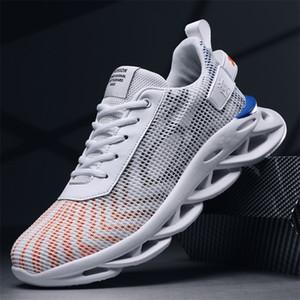 Men Shoes Trend Fashion Platform Men's Sneakers White Zapatos De Hombre Walking Mens Shoes Casual Tenis Masculino Adulto 201218
