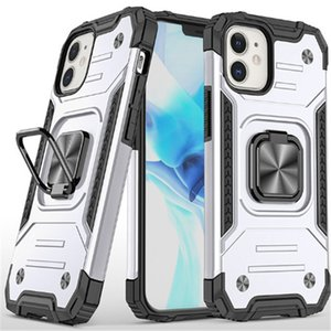 Custodie per telefono con supporto per 7/8 XR MAX 11 12 MINI SAMSUNG A10 A20 A51 A71 A21S LG K40 K51 Caso anello antiurto