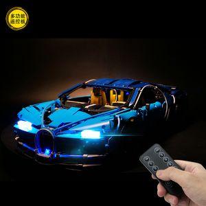 LED Lightaling lumière Set Kit éclairage LED pour 42083 Bugatti Chiron Technic Set briques bricolage jouet (ne pas inclure le modèle) c1118