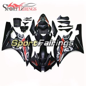 Motorcycle Bodywork For YAMAHA YZF600 2006 2007 R6 06 07 YZF 600 Full ABS Plastic Injection Fairings Kit Black Red White