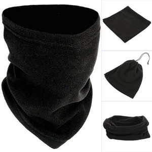 Unisex Beanie Hats Ski Snood Scarf Women Men Face Scarf Warmer Thermal Winter Spring Mask Fleece Neck Snood U7V9