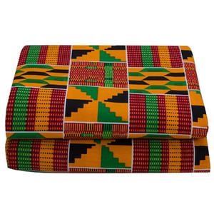 Ankara Африканский полиэстер Wax Prints Tablet 2021 Binta Real Wax Высокое качество 6 ярдов Африканская ткань для ручной работы шитья