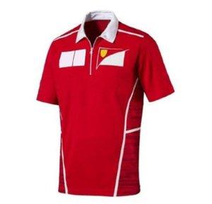 2020 F1 Takım Fan Giyim erkek Kısa Kollu Tişört Yarış Takım Elbise Spor Hızlı Kuruyan Özel Polo Suit Araba Fan Versiyonu