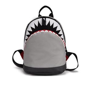 3D мультфильм акулы Рюкзак возраст 1-3 малышей Холст рюкзак Дети Дети Учиться в России Детский сад Школа сумка для девочек мальчиков Mochila C1116