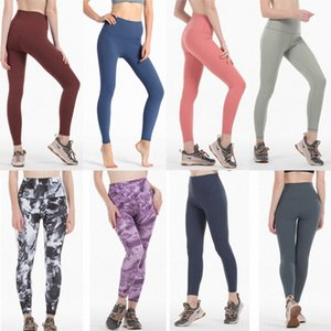 designer lulu gym leggings lu womens yoga pants lu legging align fitness lady overall full tights workout leggins tracksuit yogaworld a3tL#