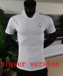Jugador versión 2020 2021 Argelia Mahrez Jerseys de fútbol de dos estrellas Atal Slimani Brahimi Home Bennacer Football Shirts Maillot de uniformes de pies