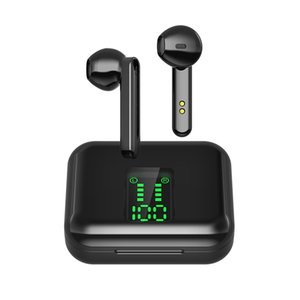 X15 TWS Wireless earbud 5.0 سماعة بلوتوث مع شاشة رقمية تشغيل سماعة مع مايكروفون شحن مجاني