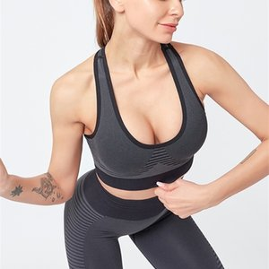 New Sexy Women's Seamless Sports Bra+Pants 2 Pieces Yoga Set Costume For Lady Sportswear Gym Fitness Leggings Suit Female Y200328