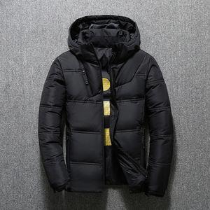 Top High Quality Designer Mens Winter Down Jacket Parka Classic New Mens Fashion parka thick warm mens down jacket