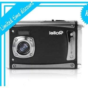 Auto-impermeável 8x Zoom 1080P 16MP Vídeo Digital Ação 3M Impermeável ao ar livre HD Esportes Camera