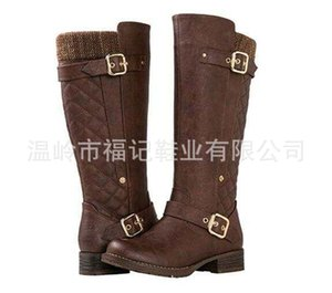 New leather top thick soled Large Martin boots women's inner fur heighten shoes in autumn and winter 2020 Q1207
