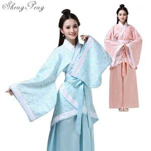 2018 New Chinese Folk Dance Fairy Disfraz Brocade Mujer Classical Hanfu Traje Tradicional Antigua Ropa China CC3991