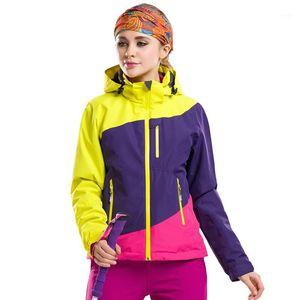 Новая женская сфокусированная куртка 3in1 Пешие прогулки Кемпинг Восхождение на открытом воздухе Водонепроницаемая Водоверхумированная Волназависимая Winterbreak Winter Sport лыжа на лыжах сноуборд Coat1