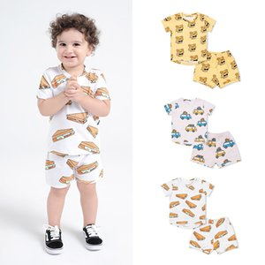 TinyPeople 2020 baby girl summer clothes two piece baby boy outfit set newborn clothes roupa infantil fashion children clothes Y1113