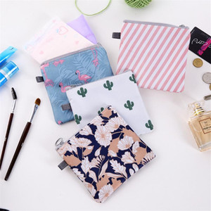 1Pcs Tampon Storage Bag Sanitary Pad Pouch Women Napkin Cosmetic Bags Organizer Ladies Makeup Bag Girls Tampon Holder Organizer