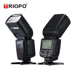 Triopo tr-982III TR-982 III Speedlite Speedlite HSS Multi LCD Mestre Sem Fio Modo Escravo Flash Light para DSLR Camera1