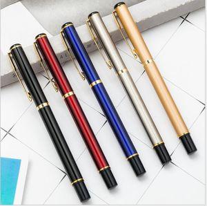 high quality Promotion 163 Matte Black metal ballpoint pen   Roller ball pen fine office stationery fashion gift pens