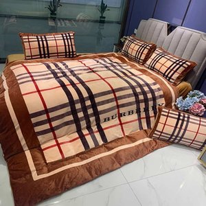 3D Velvet flannel designer bedding sets king size luxury Quilt cover pillow case queen size duvet cover designer bed comforters sets SDEC325