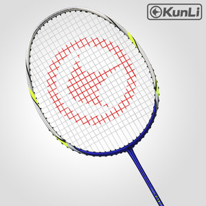 Original Kunli oficial badminton 4u 79g força snipe 79 carbono cheio carbono ultra luz ataque raquete profissional penas z1202