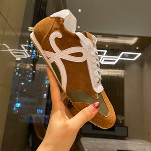 2021TOP NEW women spike sneakers leather suede Graffiti flats bottoms casual shoe cx201025