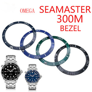 Fit For OMEGA SEAMASTER 300M diver ceramic bezel Repair Tools watch accessories Master watches part repairmen watchmark man wristwatches