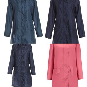 Largo impermeable mujer hombres impermeable capucha capa lluvia ponchos chaqueta capa hembra chubasqueros impermeables mujer w1223
