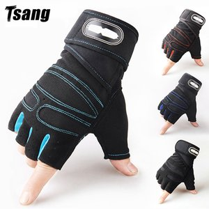 Tsang Gym Fitness Peso Ascensori Guanti Guanti Body Building Training Practice Sport Workout Guanto per uomo Donne M / L / XL