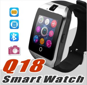 Q18 smart watch Bluetooth Smartwatch SIM TF Card Slot Fitness Activity Tracker Sport WatchWith Camera For IO Android